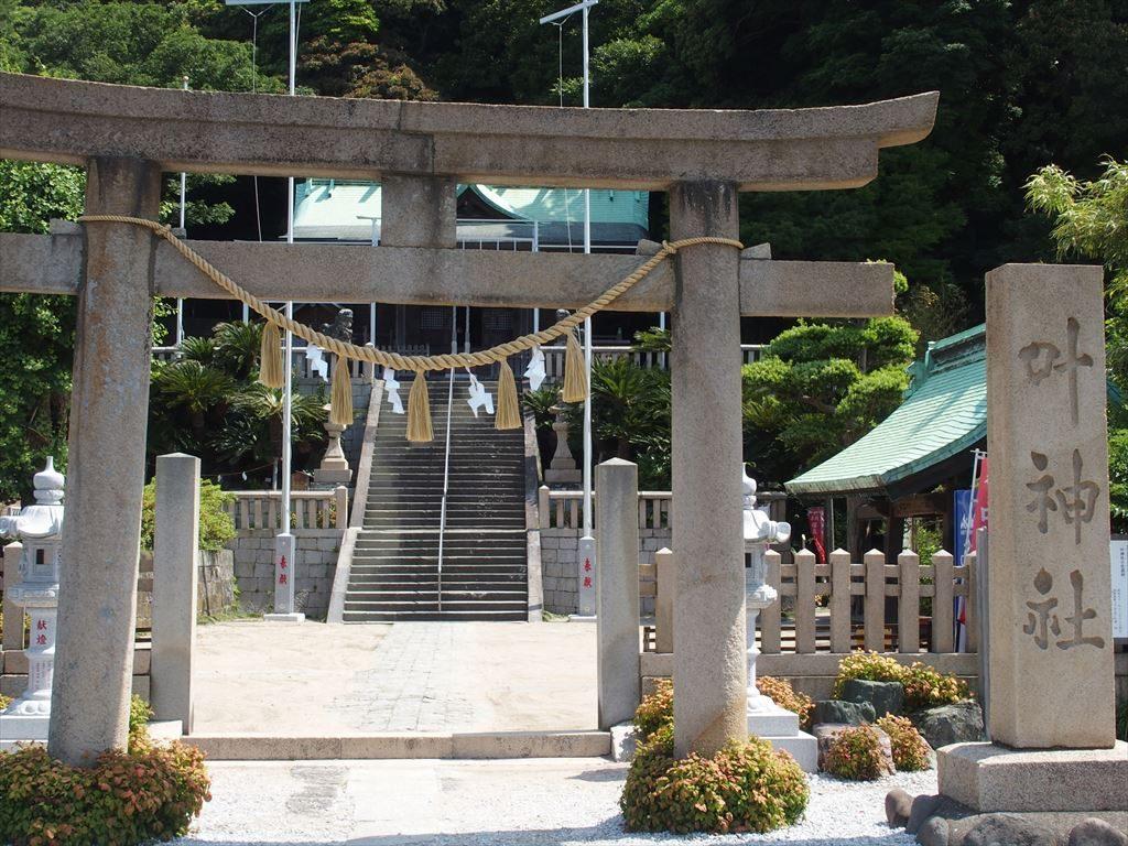 東叶神社の外観