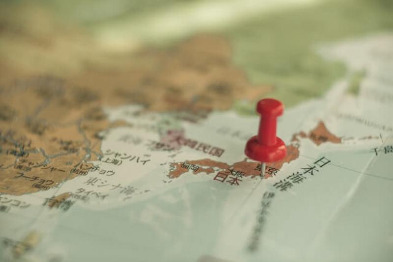 地図とマーク