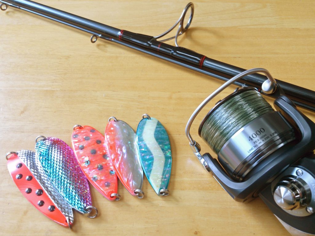 釣り道具(竿とリールとルアー)