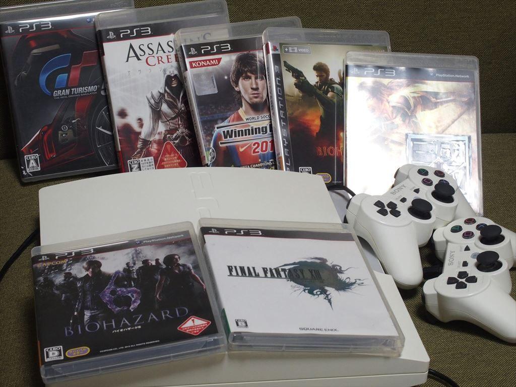 PS(プレイステーション)3の本体とソフト