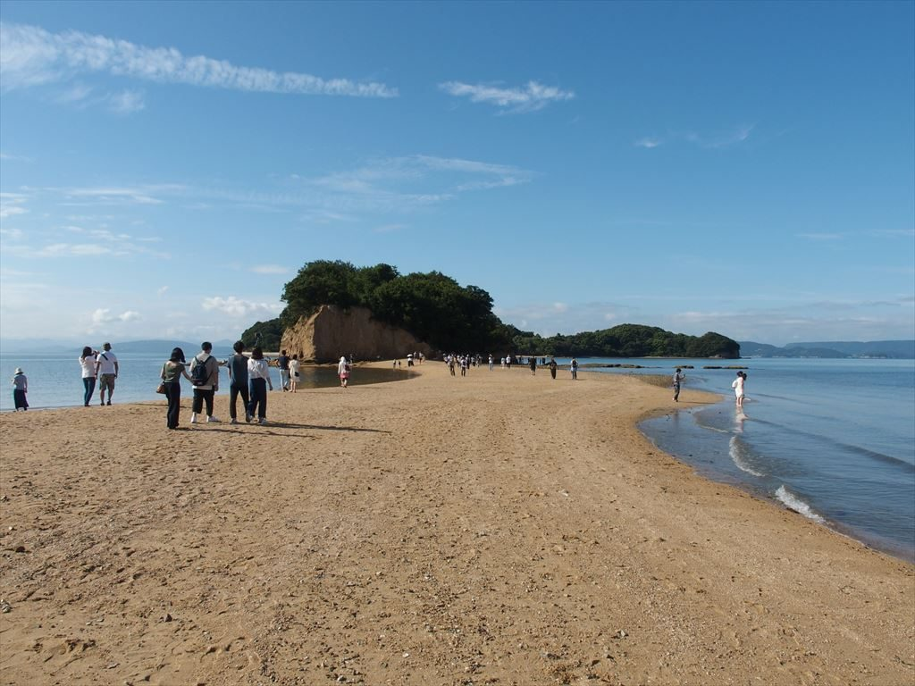 小豆島(エンジェルロード)