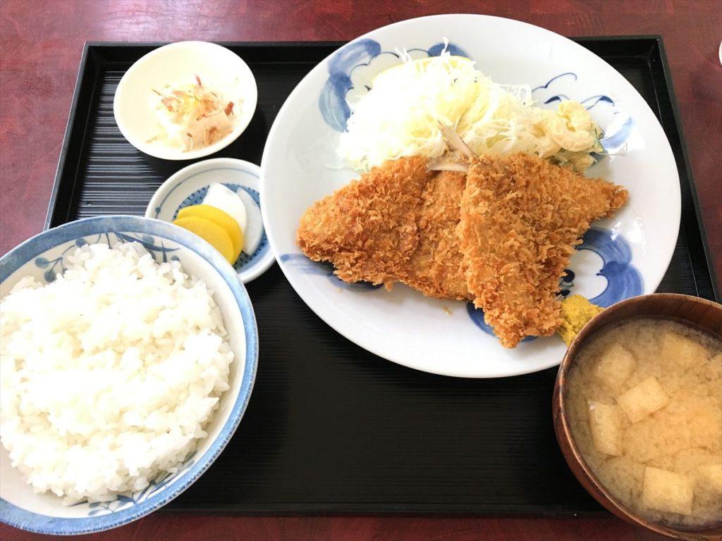 黒船食堂アジフライ定食