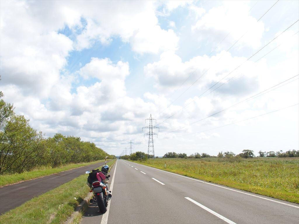 釧路湿原道路
