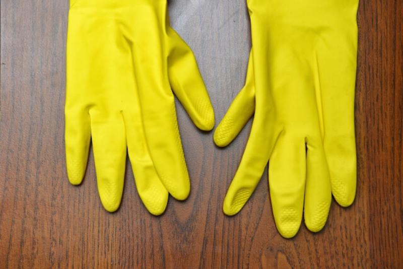 ゴム手袋のイメージ