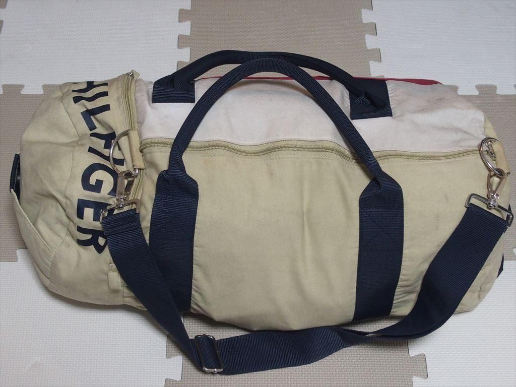 キャンプ道具一式をバッグに入れた状態(収納状態)