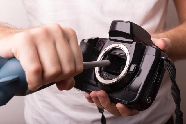 カメラの修理