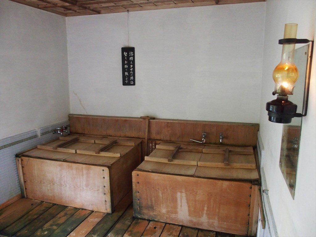 渡合温泉ランプの宿(風呂)_R
