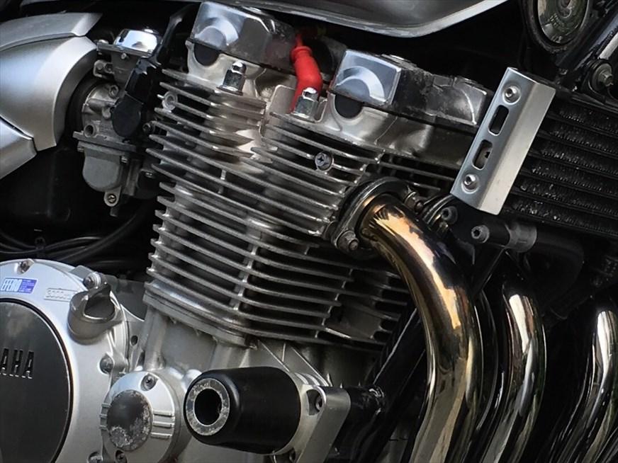 空冷エンジンのアップ画像