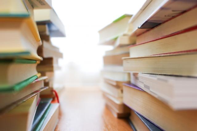 本がたくさんあるイメージ