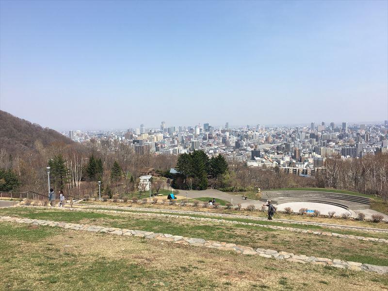 旭山記念公園からの眺望