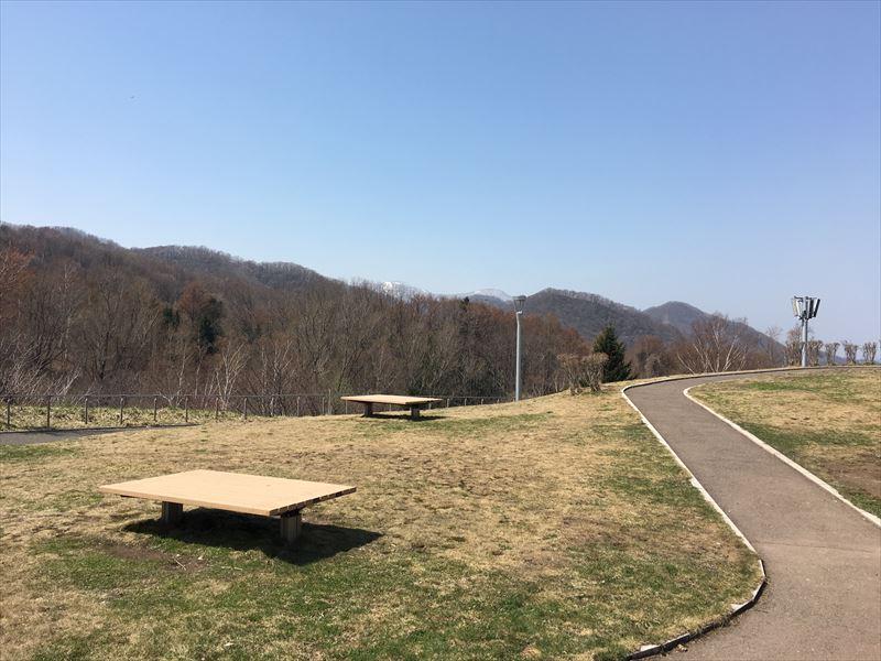 旭山記念公園の小道
