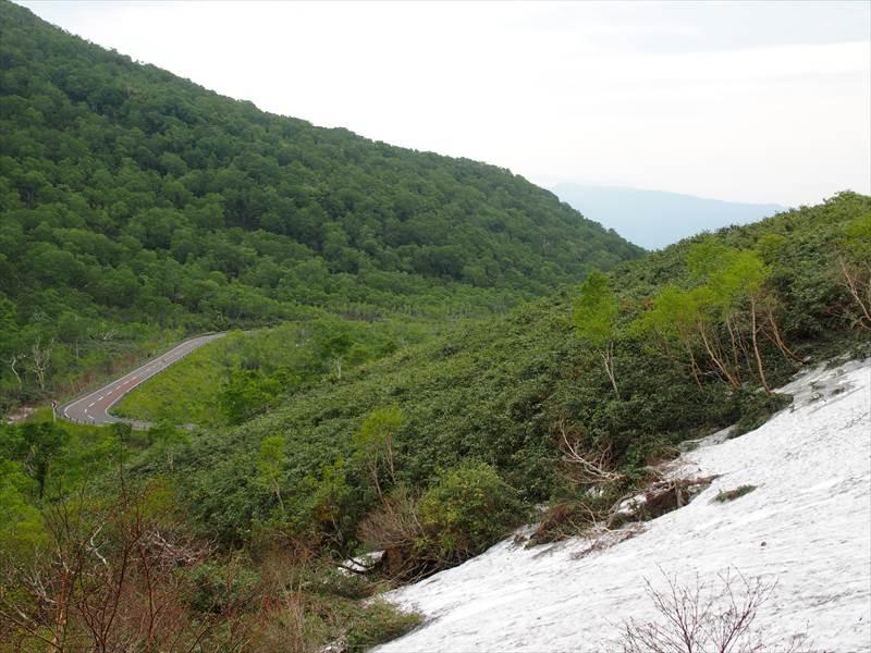 ニセコパノラマラインの風景