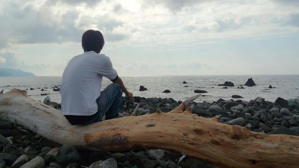賽の河原キャンプ場(奥尻島)