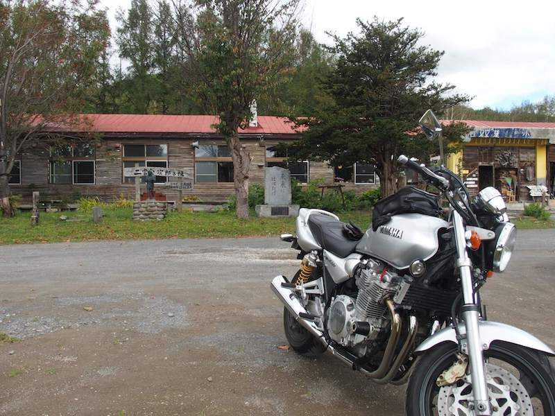雪月花廊とバイク