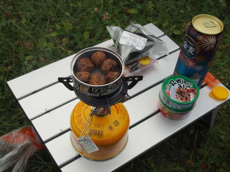 キャンプ飯(缶詰)