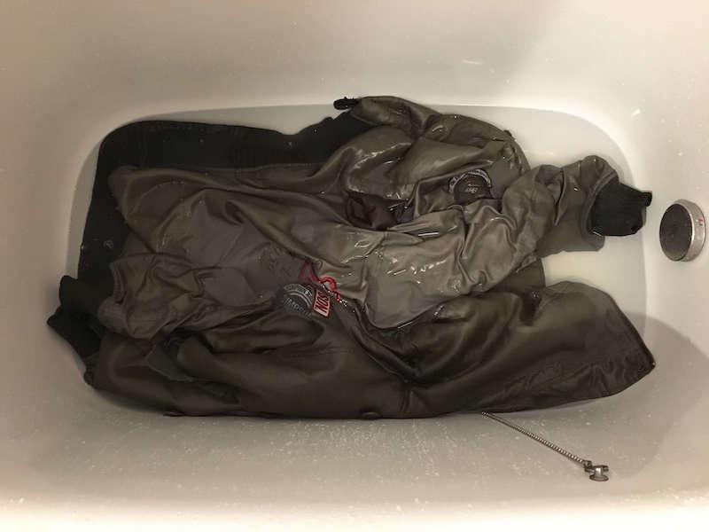 バイクジャケットの洗濯