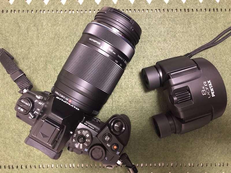 野鳥撮影の道具