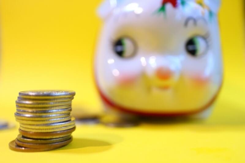 予算と貯金のイメージ