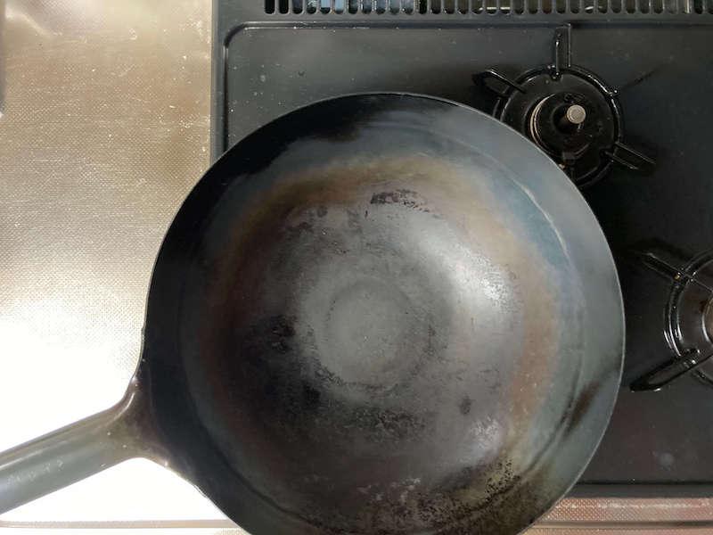 中華鍋の大きさ(30cm)